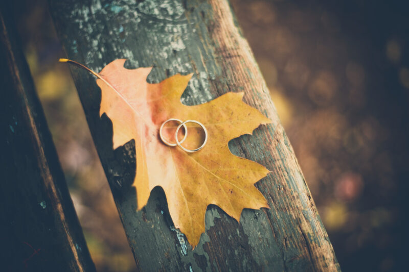 Ideas for the Perfect Outdoor Autumn Wedding