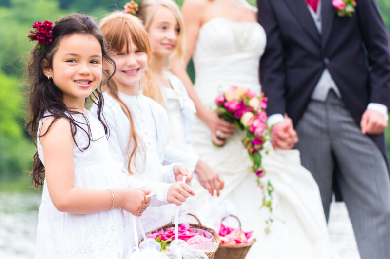 3 Great Ideas For Incorporating Kids Into Your Wedding